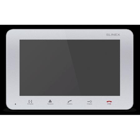 Видеодомофон SLINEX SM-07M Silver