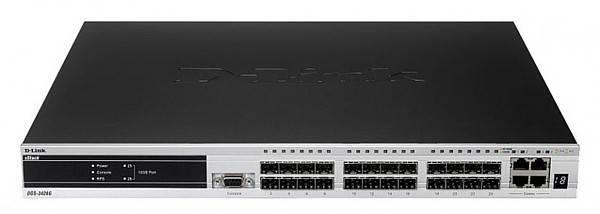 Коммутатор управляемый D-Link DGS-3420-28SC