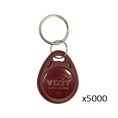 Ключ VIZIT-RF3.1 (RFID-13.56 MHz брелок Mifare) упаковка 5000 шт.