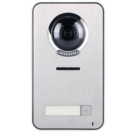 Блок вызова видеодомофона KENWEI KW-S201C-1B с козырьком