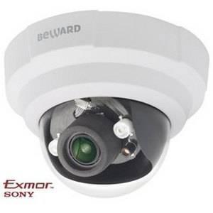 IP видеокамера купольная BEWARD B1710DR