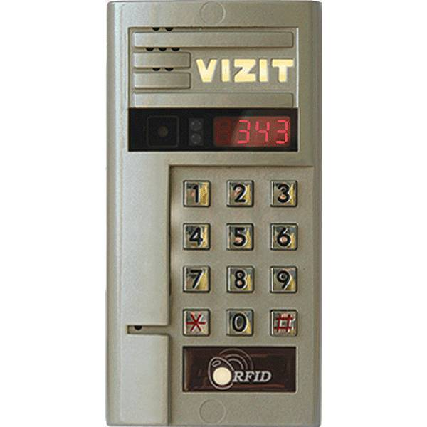 Блок вызова видеодомофона VIZIT БВД-343RCPL