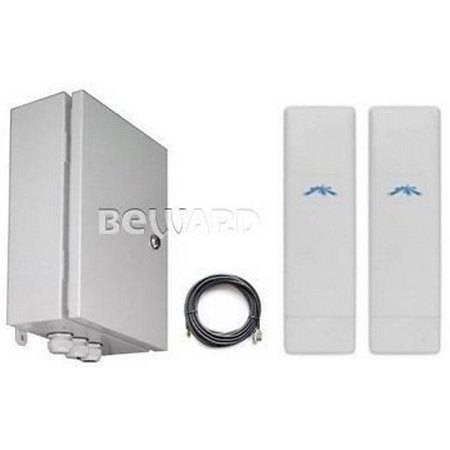 Комплект передачи IP видео BEWARD BR-025-8