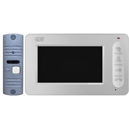 Комплект видеодомофона CTV-DP400 W