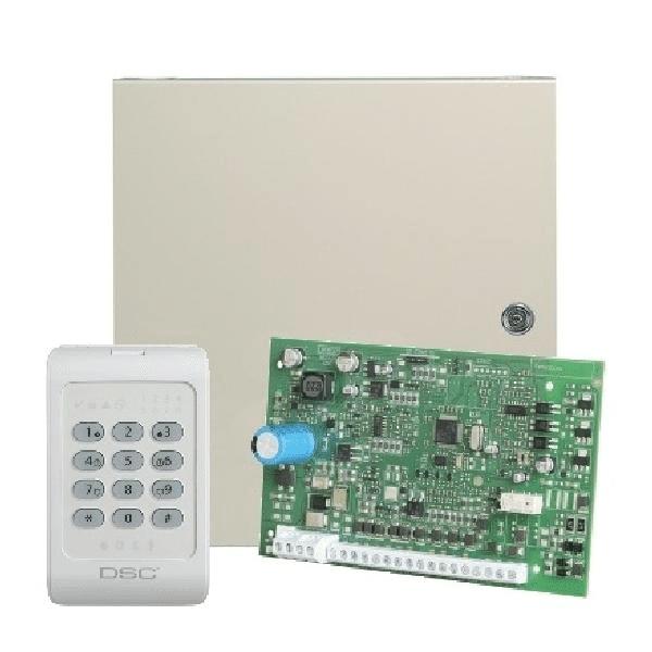 Панель приемно-контрольная DSC KIT04-1WENG
