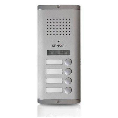 Блок вызова видеодомофона KW-135MC-4B