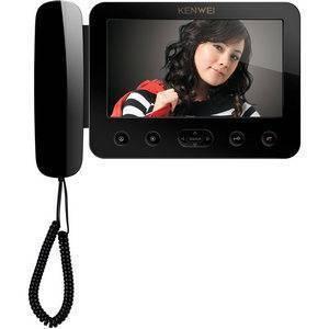 Монитор видеодомофона KW-E705FC-W100 черный