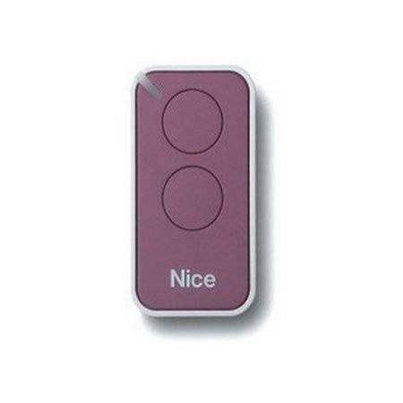 Пульт управления 2-канальный, цвет лиловый NICE INTI2L