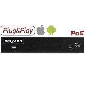 IP-видеорегистратор 24-канальный BEWARD BDR24VP8