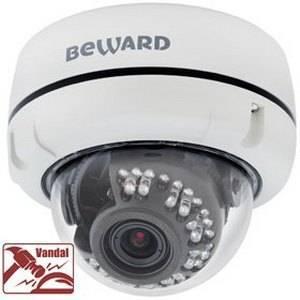 IP видеокамера купольная BEWARD B1710DV