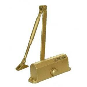 Доводчик дверной DIPLOMAT 604 EN4, золото