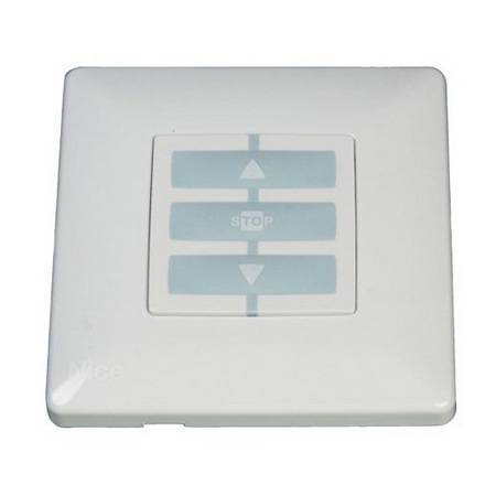 Корпус Opla, квадратный белый NICE WSW