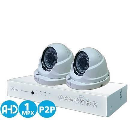 Комплект AHD видеонаблюдения IVUE-D5004 AHC-D2
