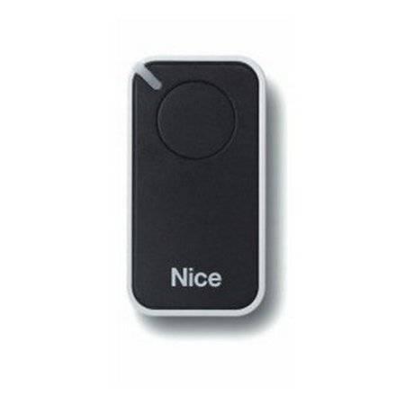 Пульт управления 1-канальный, цвет черный NICE INTI1