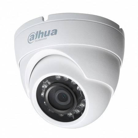 MHD видеокамера купольная DAHUA HAC-HDW1200M-0360B-S3
