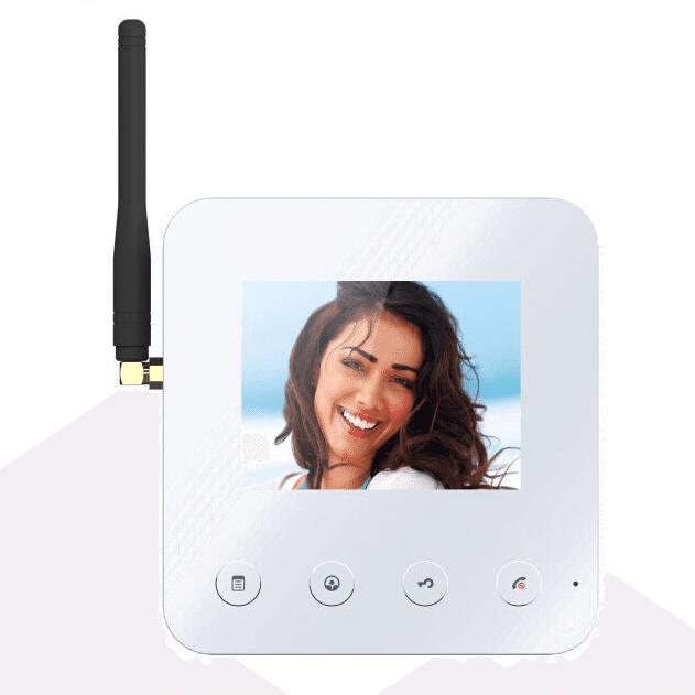 Комплект видеодомофона KENWEI KW-V401D/KW-V1380D