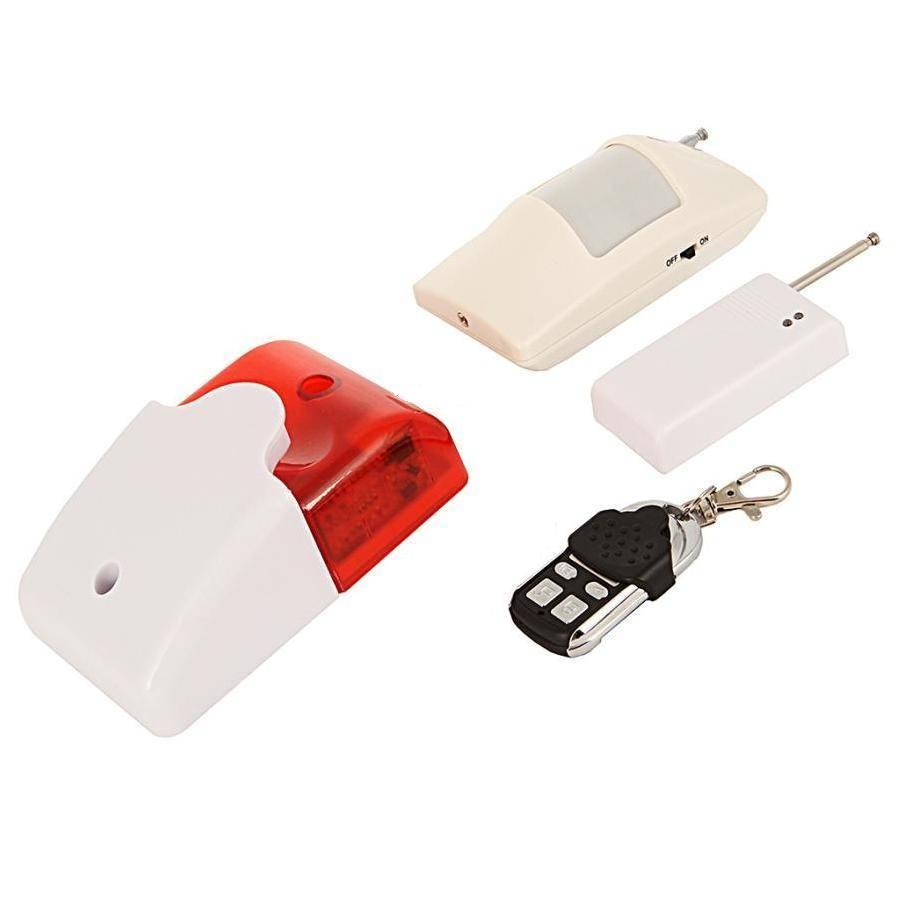 Комплект локальной  беспроводной охранной сигнализации на базе Sapsan Local Alarm