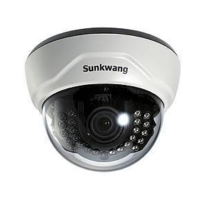 Видеокамера купольная SUNKWANG SK-D300IR/M846AI (2.8-12) EDN