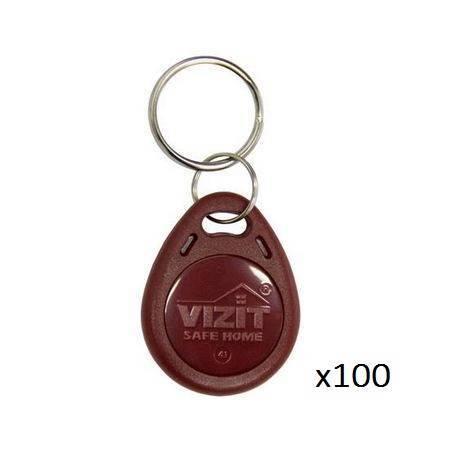 Ключ VIZIT-RF3.1 (RFID-13.56 MHz брелок Mifare) упаковка 100 шт.