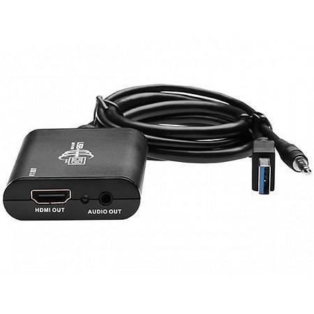 СНЯТО С ПРОИЗВ-ВА Конвертер USB 3.0 в HDMI (внешняя видеокарта) LENKENG LKV326