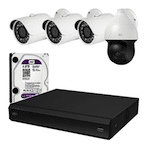 Комплект видеонаблюдения для дома ПРЕМИУМ