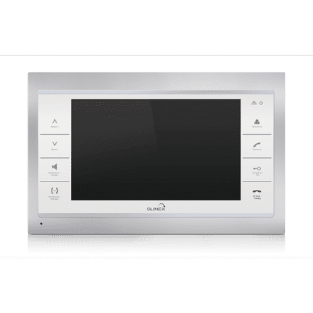 Видеодомофон SLINEX SL-10 IP Silver+White