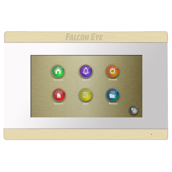 Монитор видеодомофона FALCON EYE FE-70 ARIES white
