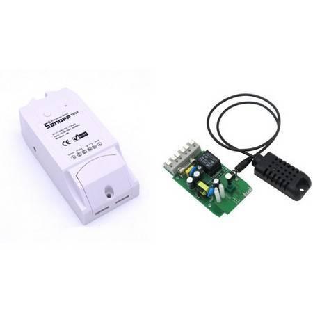 WiFi реле Sonoff TH16A (с датчиком в комплекте)