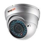 AHD видеокамера 1 Мп 2,8-12 мм уличная всепогодная NOVICAM AC18W v.1106