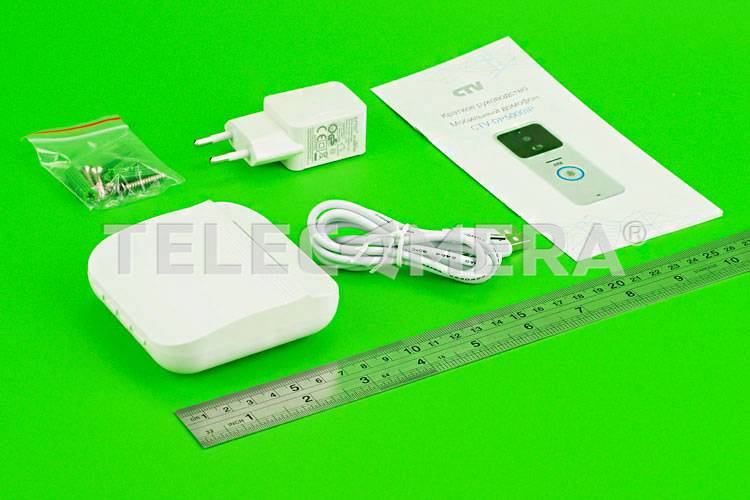 Комплект мобильного видеодомофона CTV-DP5000IP
