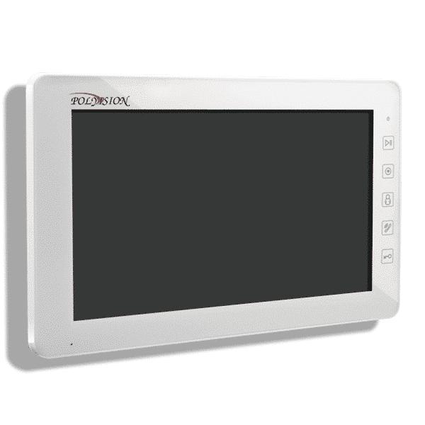 Монитор видеодомофона POLYVISION PVD-10L v.7.1 белый