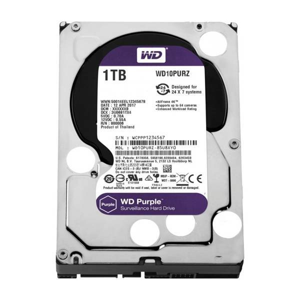 Жесткий диск WD Purple WD10PURZ