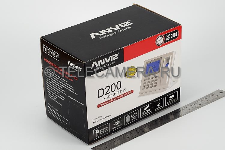 Терминал биометрический Anviz Bio Office D200 Super slim