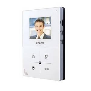 Монитор видеодомофона KOCOM KCV-401EV white
