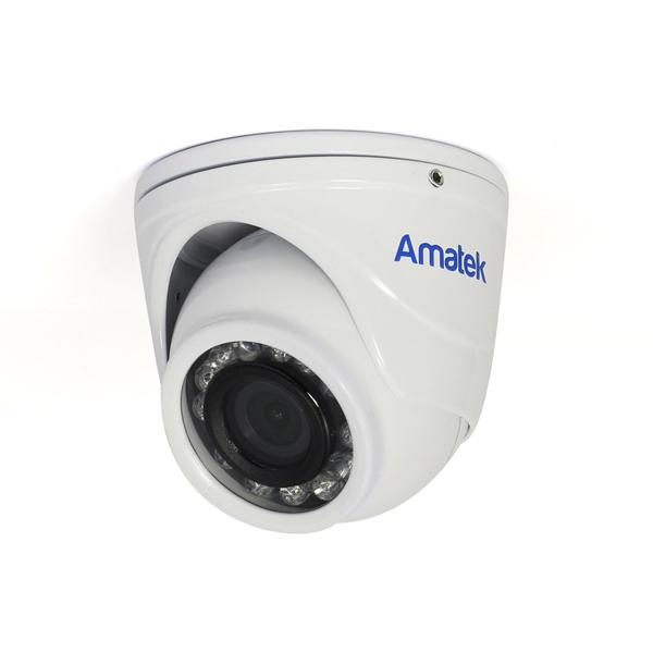 MHD видеокамера антивандальная миниатюрная AMATEK AC-HDV201S(2,8)