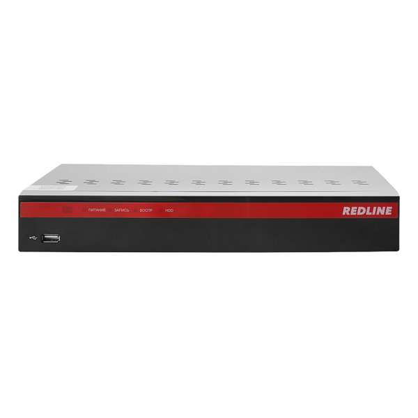 MHD-видеорегистратор 8-канальный REDLINE RL-MHD8U2