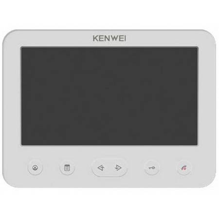 Монитор видеодомофона KENWEI KW-E706FC-W100 Vizit white
