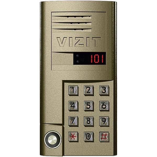 Блок вызова домофона VIZIT БВД-SM101T