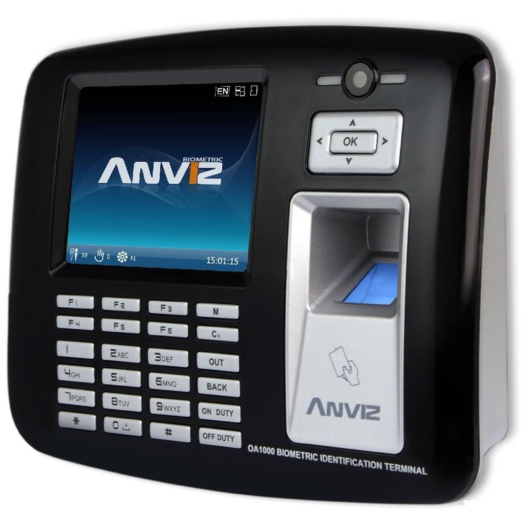 Контроллер биометрический с учетом рабочего времени Anviz OA1000 Wi-fi