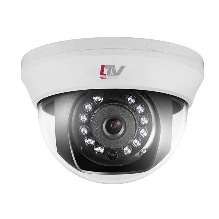 HD-TVI видеокамера купольная LTV CTB-710 42