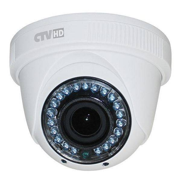 AHD видеокамера купольная CTV-HDD2810A PE