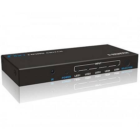 HDMI-свитчер LENKENG LKV501