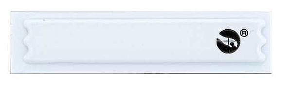 Этикетки защитные Sensormatic MiniUltra Strip III (Rigid DB), цвет белый