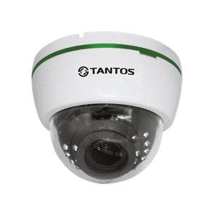 IP-видеокамера купольная TANTOS TSi-Dle2VP (2.8-12)