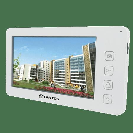 Монитор видеодомофона TANTOS Prime+, белый