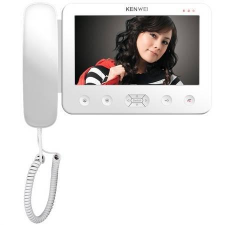 Монитор видеодомофона KENWEI KW-E705FC white