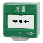 Устройство разблокировки двери SMARTEC ST-ER114D-GN со стеклянной вставкой