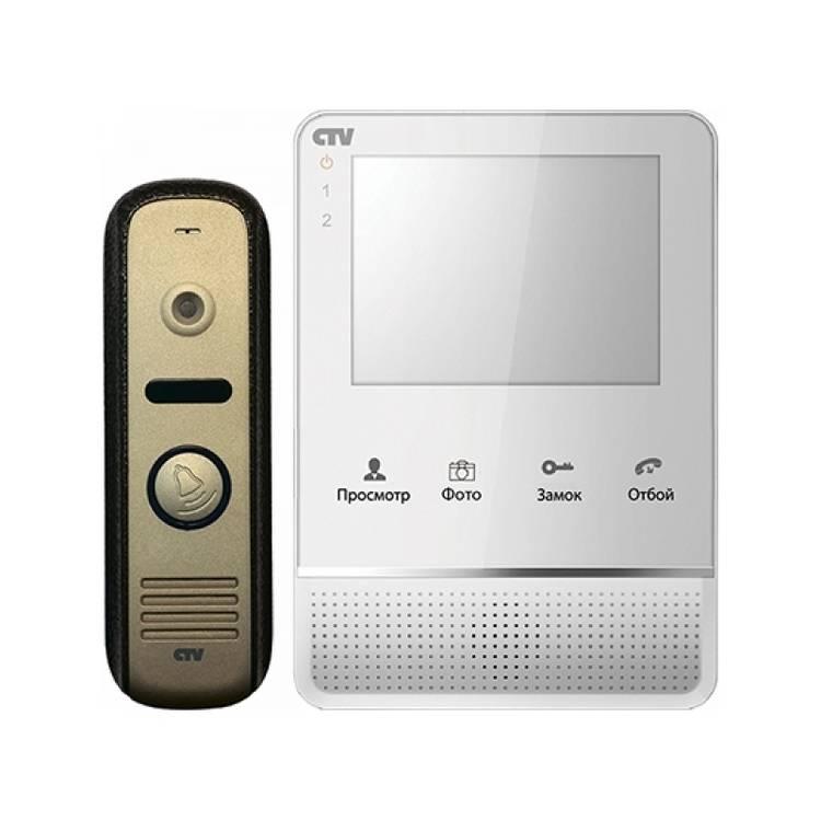 Видеодомофон CTV-DP2400ТМ W