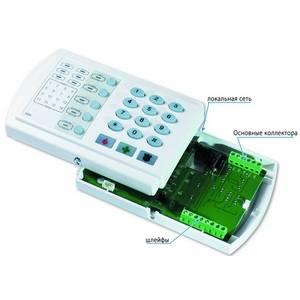 Охранная панель РИТМ Контакт LAN 11