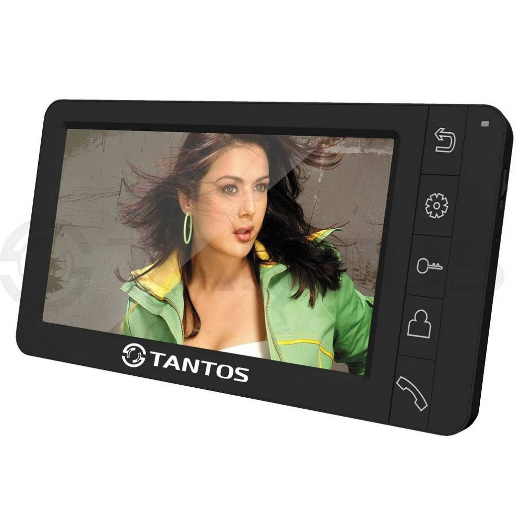 Монитор видеодомофона TANTOS Amelie SD, черный